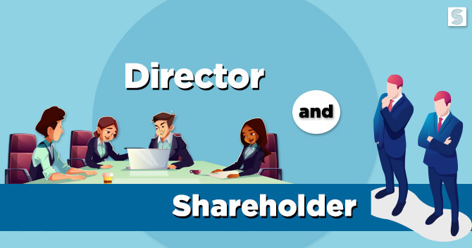 difference between a shareholder and a director